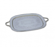 Reed & Barton Sheffield Collection 36cm by 60cm Silver-plated Queen Anne Oblong Tray