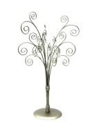 41cm Silver Toned Photo Tree / Jewellery Holder