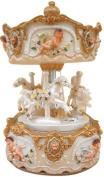 "MusicBox Kingdom 14235 170mm Carousel Music Box Playing ""Loreley"""