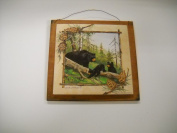 Bear Hollow Black Bears Sign Lodge Cabin Decor Camper Signs Wooden Wall Art