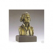 Thomas Jefferson Bust Statue - Founding Father - Great Americans Collection