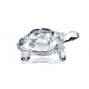 Lightahead® CHINESE FENG SHUI TORTOISE TURTLE GLASS STATUE LUCKY GIFT OF GOOD HEALTH