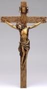 22cm Antique Gold Crucifix (Joseph's Studio)