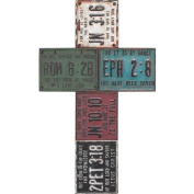 Resin Licence Plate Wall Cross