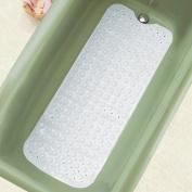 Extra Long Cushioned Bath Tub Mat Clear