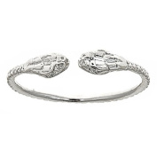 Thick Snake Ends .925 Sterling Silver West Indian Bangles ONE BANGLE 23cm 60 Grammes