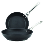 Circulon Infinite Hard Anodized Nonstick 25cm and 30cm Skillets Twin Pack