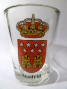 Madrid Spain Coat Of Arms Shot Glass
