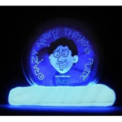 Toy / Game Thinking Putty - Glow-In-The-Dark - 10cm - Aura - You Can Even Do Cool Tricks & Glow For Hours
