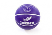 360 Athletics Playground Rubber Basketball, Size 7, Purple