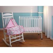 Disney Baby Bedding Minnie Mouse 3 Piece Portable Crib Bedding Set