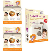 Clevamama Baby Home Safety Corner Guards & Door Cushions Set