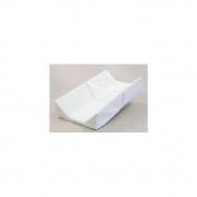 L. A. BABY 1830-34CPW Commercial Grade Changing Pad with Extra High Sides 90cm long- White