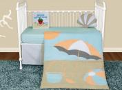 Snuggleberry Baby SB-SS501 Sun and Sand 5 Piece Crib Bedding Collection