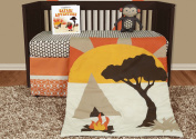Snuggleberry Baby SB-AD501 African Dream 5 Piece Crib Bedding Collection