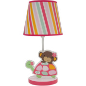 Bedtime Originals Jungle Sweeties Lamp with Shade and Bulb