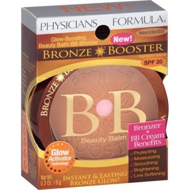 Physicians Formula Bronze Booster Bronzer Beauty Balm, 6220 Medium to Dark, 10ml