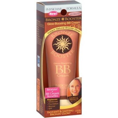 Physicians Formula Bronze Booster Glow-Boosting BB Cream, Light to Medium, 35ml