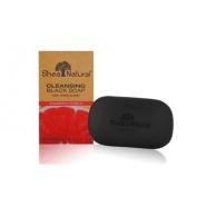 Shea Natural 1518190 Black Soap Shea Butter Cleansing Grapefruit Pomelo 150ml