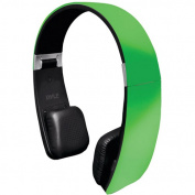 Pyle PHBT6G Sound 6 Bluetooth 2-in-1 Stereo Headphones with Built-in Microphone, Green