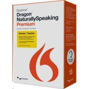 Nuance Dragon NaturallySpeaking 13 Premium Student & Teacher Edition come with a standard