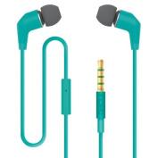 Incipio NX-309 F88 3.5mm Stereo Earbuds Teal
