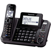 Panasonic KX-TG9541B DECT 6.0 2-Line Link-to-Cell Bluetooth Cellular Convergence Solution, 1-Handset System