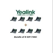 Yealink SIP-T46G - Bundle of 8 SIP-T46G IP Phone