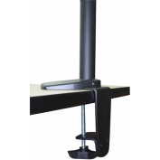 Regency Seating Double Screen Articulating Monitor Mount, Black