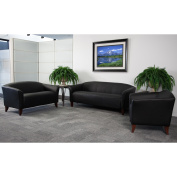 Flash Furniture Hercules Imperial Series 3 Piece Leather Reception Set