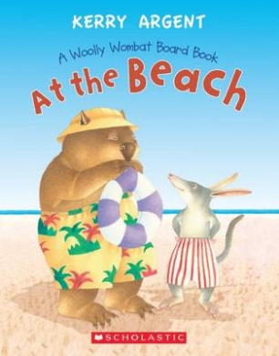 One Woolly Wombat - at the Beach [Board book]
