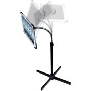 CTA Digital Apple iPad 2/3/4 Height-Adjustable Gooseneck Floor Stand