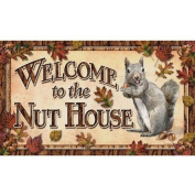 River's Edge Products Nut House Door Mat