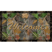 River's Edge Products Welcome Cano Door Mat