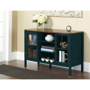 10 Spring Street Hinsdale 2-Door with Centre Shelves Console Cabinet, Deep Teal