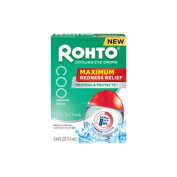 Rohto Maximum Redness Relief Cooling Eye Drops, 10ml