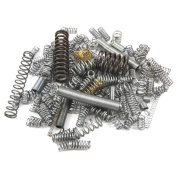 Forney 72599 Extension and Compression Spring Mixed Assortment 100-Pieces