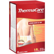 Thermacare Lower Back & Hip Heat Wrap, L-XL, 3ct