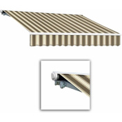 Beauty-Mark by Awntech Galveston Semi-Cassette Left Motor with Remote Retractable Awning