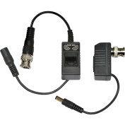 Night Owl A-VB-POE-BNC Passive Video Balun Converters with Power for Security CCTV Systems