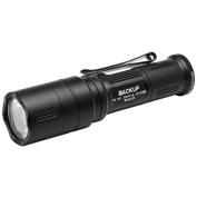 SureFire EB1C-B-BK EB1 Backup 5/200 Lumens LED Flashlight Black No Shroud