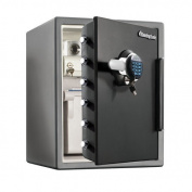 Fire-safe Xx-large Digital Safe-sfw205grc - 0.6m - Combination, Dual Key, Mechanical Dial Lock, Programmable Lock, Electronic Lock - 15cm - 60cm X 47cm X 49cm - Gunmetal Black