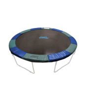 12 Super Trampoline Safety Pad (Spring Cover) Fits for 3.7m Round Trampoline Frames. 10 wide - Blue/Green