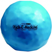 Sportime Yuck-E-Medicine PVC Tactile Medicine Ball, 17cm Diameter, 1.5kg, Blue