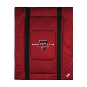 Texas Tech Red Raiders Sideline Comforter in Bright Red