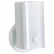 "1 Light - 18cm - Vanity - w/White ""U"" Channel Glass"