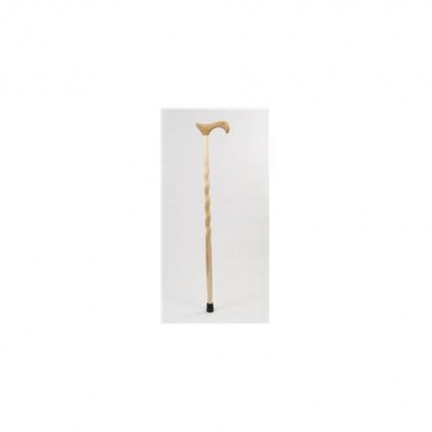 Brazos Walking Sticks DHHTC1 90cm Twisted Hickory Derby Walking Cane