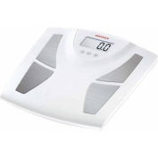 Soehnle BODY BALANCE Active Shape Precision Digital Analytic BIA Bathroom Scale, 150kg Capacity, White