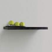 InPlace Shelving 60cm Floating Wood Wall Shelf, Espresso