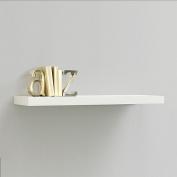 InPlace Shelving 60cm Floating Wood Wall Shelf, White